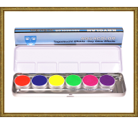 UV-Aquacolor Palett 6 nyanser